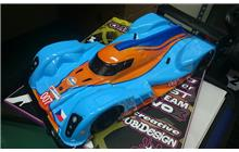 Lukáš Vater - Lola Aston Martin DBR1-2